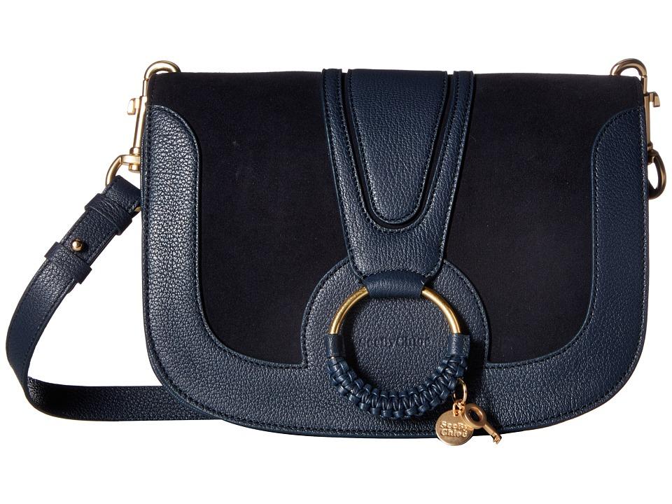 See by Chloe - Hana Medium Crossbody (Ultramarine) Handbags