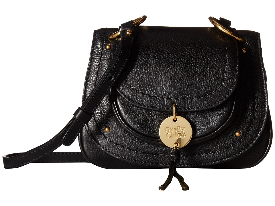 See by Chloe - Susie Small Crossbody (Black) Cross Body Handbags