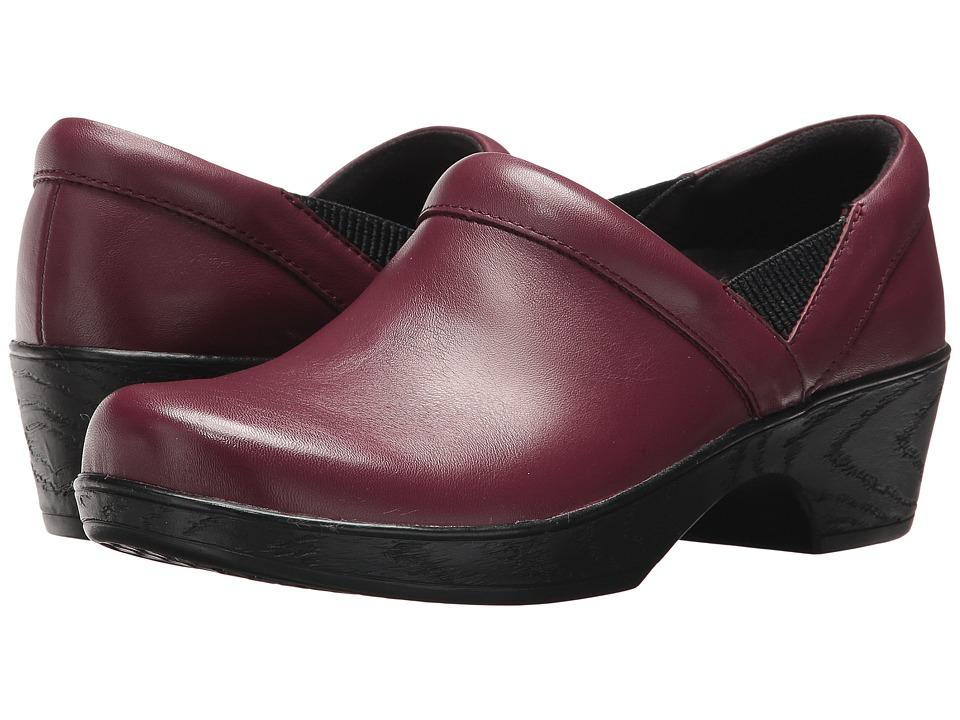Klogs Footwear Portland (Burgundy) Women's Shoes
