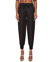 Jeremy Scott - Leather Jogger Trousers