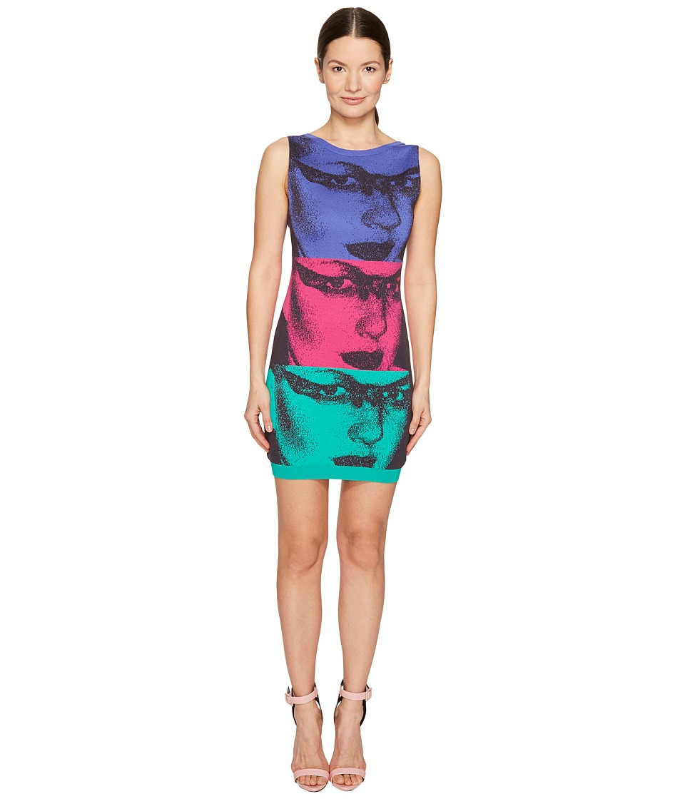 Jeremy Scott - Mod Inspired Face Dress