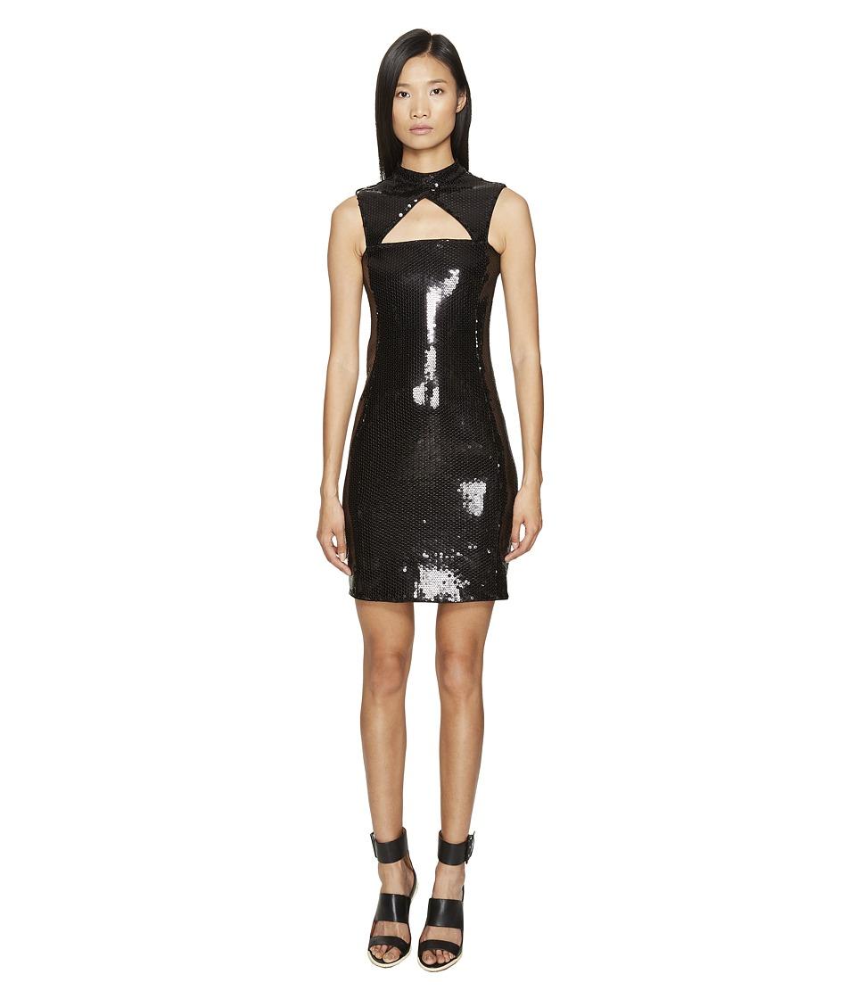 Jeremy Scott - Little Sequin Black Dress