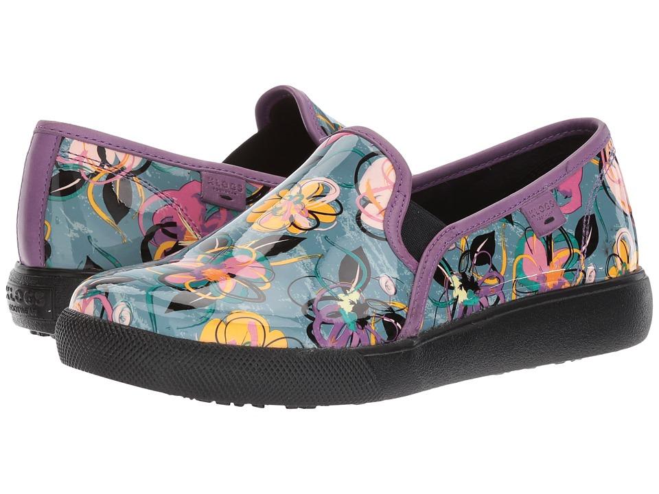 Klogs Footwear Reyes (Graphic Pansy) Women