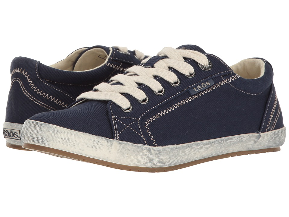 Taos Footwear Star (Navy Twill) Women