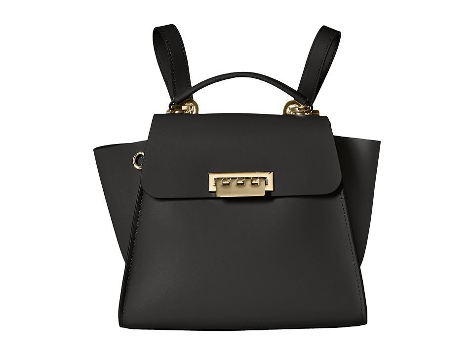 ZAC Zac Posen - Eartha Convertible Backpack (Black) Backpack Bags