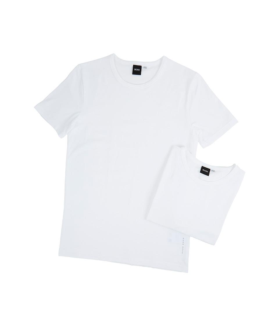 BOSS Hugo Boss T-Shirt Round Neck 2-Pack CO/EL 10194356 01 (White) Men