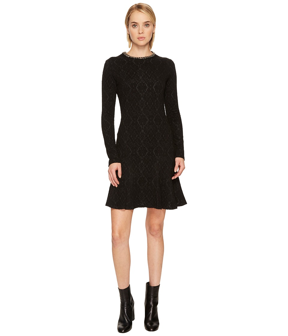The Kooples - Flowing Dress with Jewelled Collar