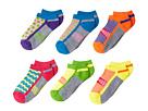 Jefferies Socks Sporty Half Cushion Low Cut 6-Pack (Toddler/Little Kid/Big Kid)