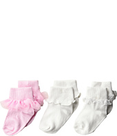 Jefferies Socks - Tutu Ruffle/Ripple/Lace 3-Pack (Infant/Toddler/Little Kid/Big Kid)