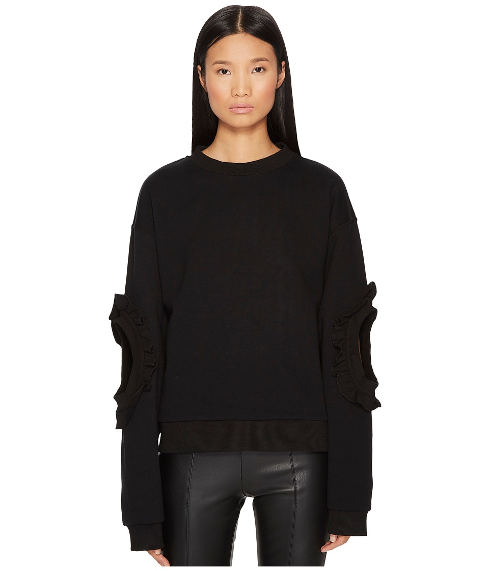 Francesco Scognamiglio - Accented Elbow Long Sleeve Sweater