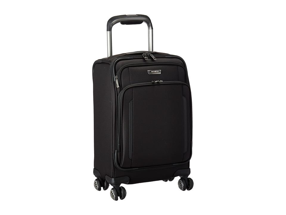 Samsonite - Silhouette XV 19 Spinner (Black) Luggage