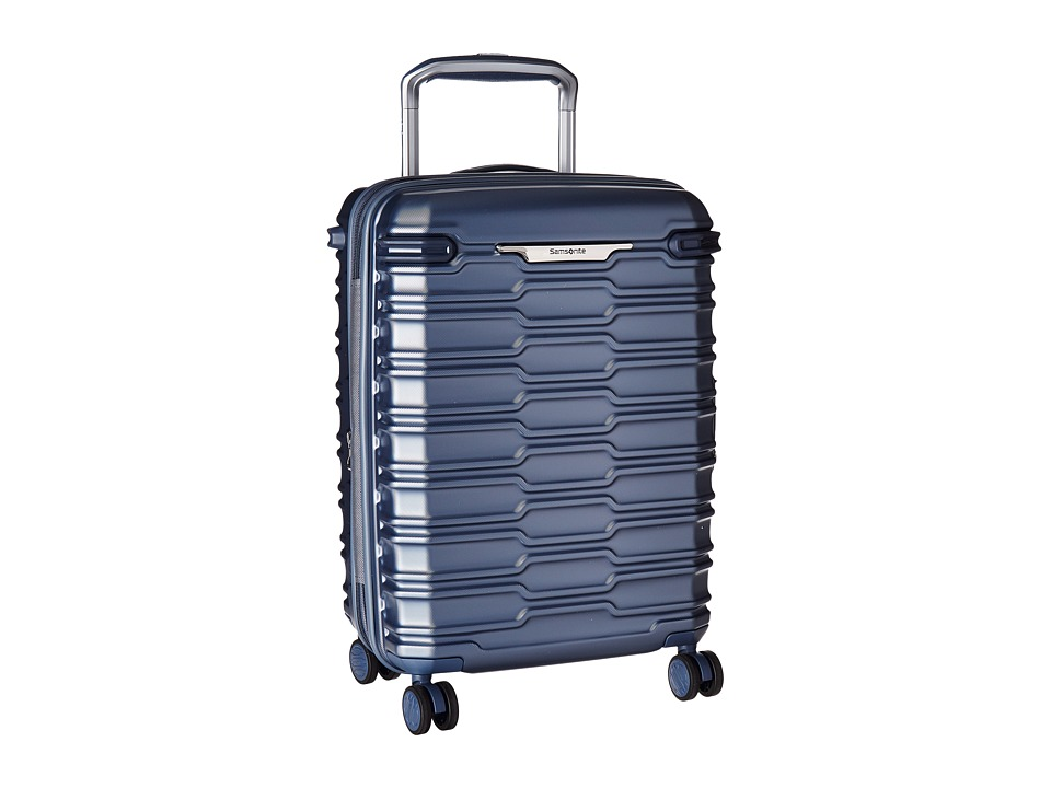 Samsonite Stryde Carry On Glider (Blue Slate) Carry on Luggage