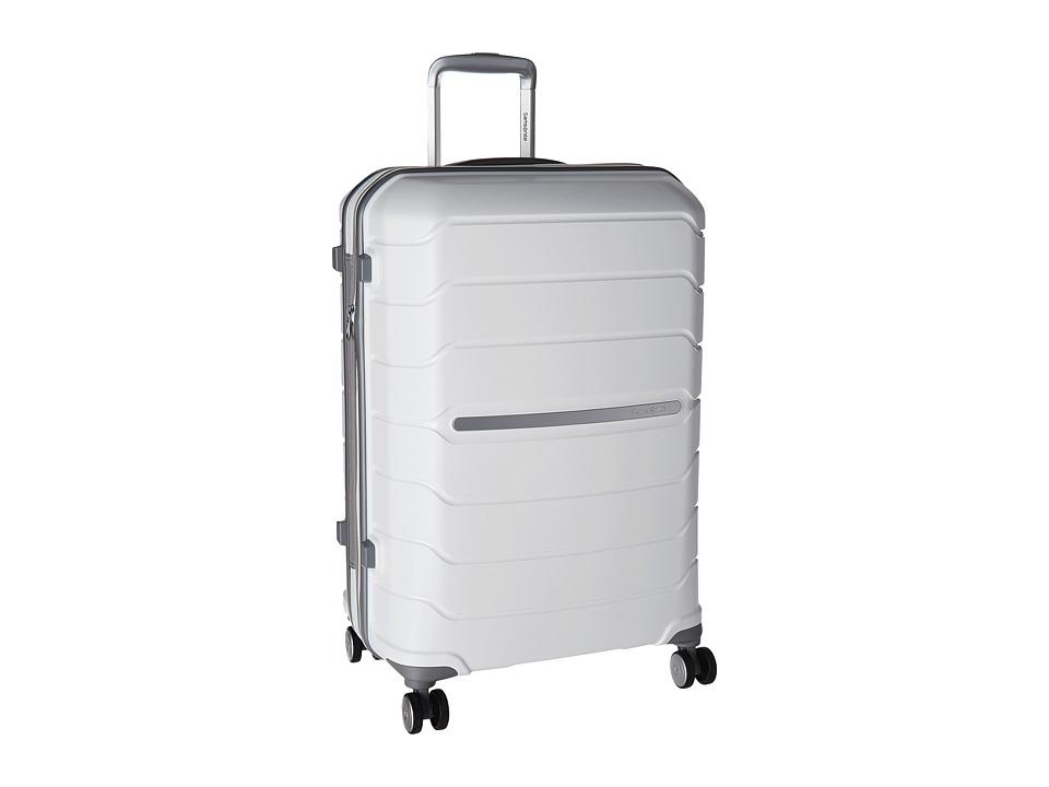 Samsonite - Freeform 24 Spinner (White) Luggage