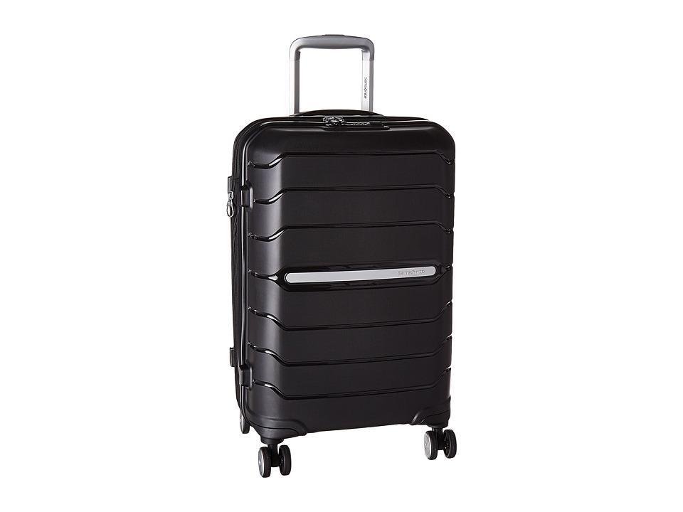 Samsonite Freeform 21 Spinner (Black) Luggage