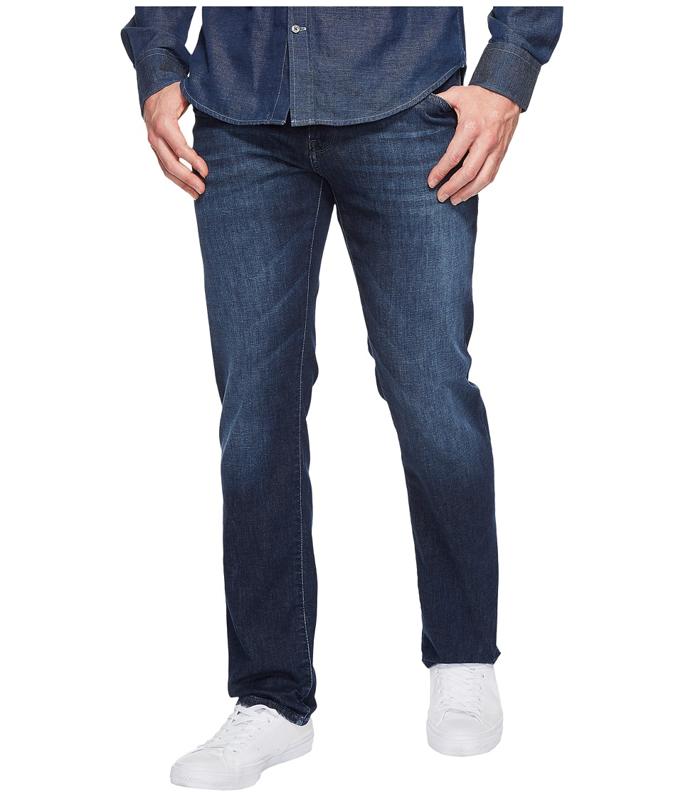 Mavi Jeans - Zach Regular Rise Straight Leg in Dark Summer Denim