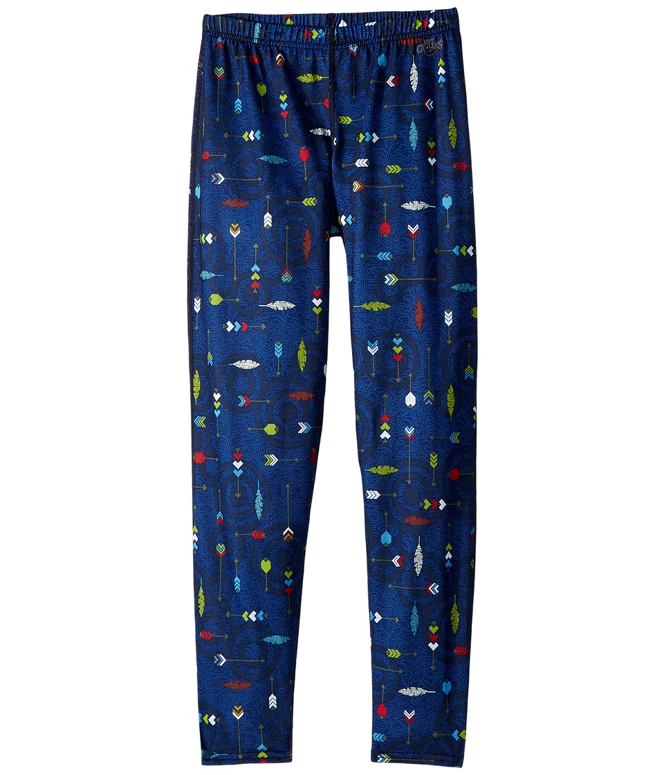 Hot Chillys Kids - Midweight Print Bottom (Little Kids/Big Kids) (Flying Arrows) Boys Clothing