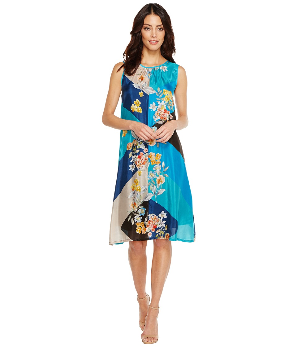 Johnny Was - Geo Flower Dress/Slip
