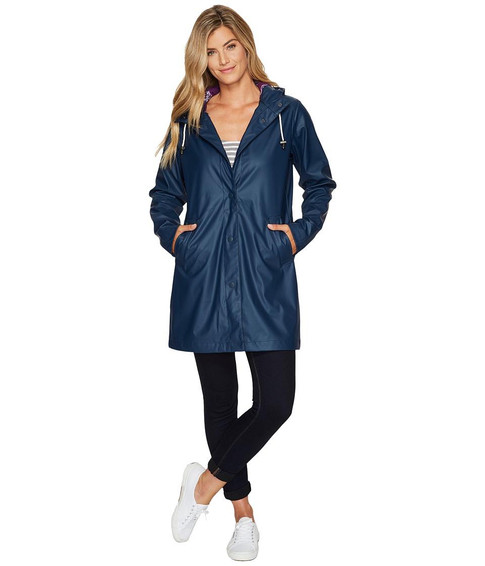 Hatley Classic Raincoat (Solid Navy) Women