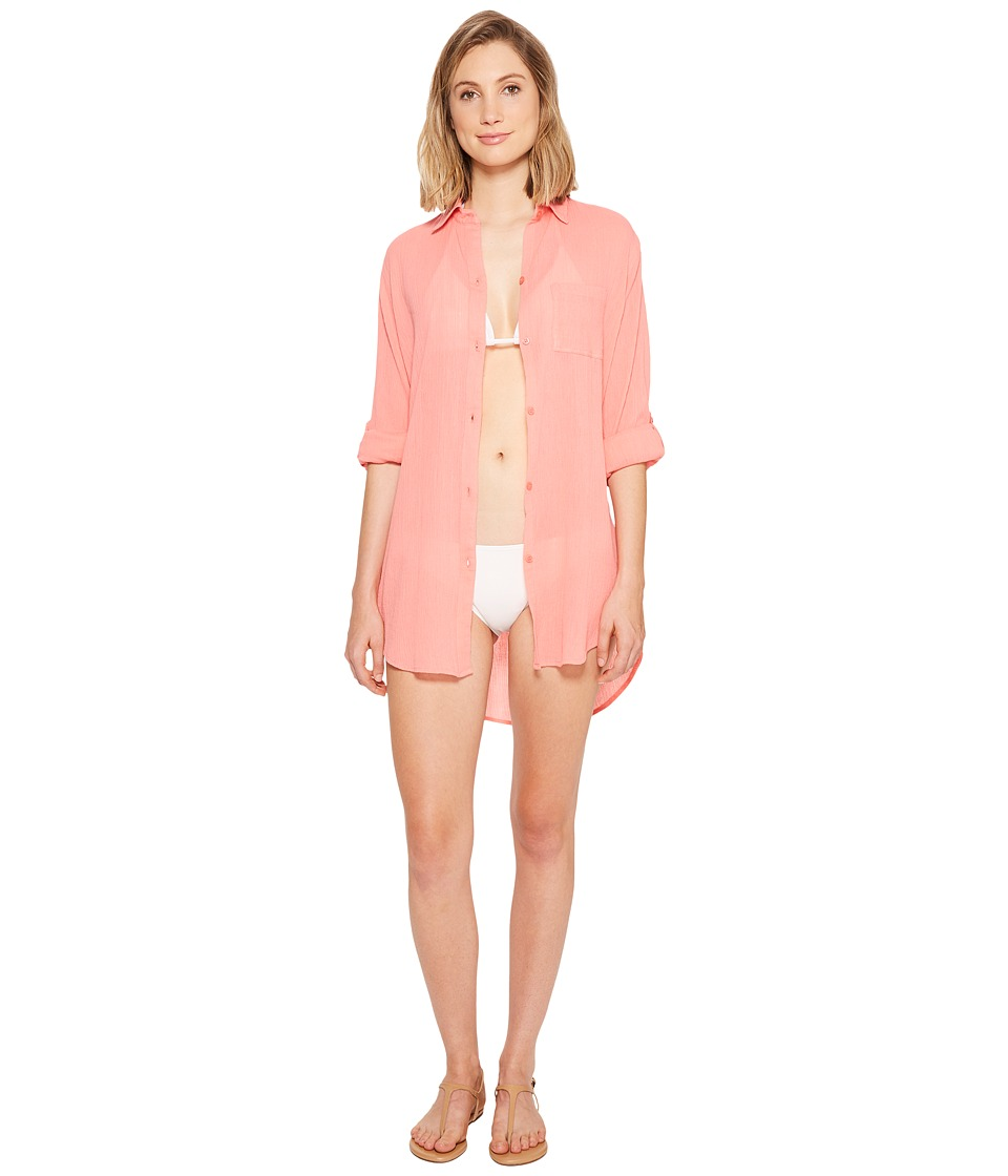 Kenneth Cole - City Covers Collared Shirtdress Cover