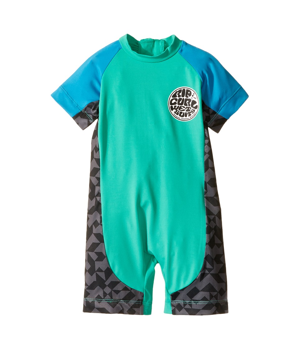 Rip Curl Kids - Aggrolite Spring (Infant/Toddler/Little Kids) (Aqua) Boys Wetsuits One Piece