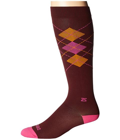 Zensah Fresh Legs Classic Argyle Compression Socks