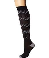 Zensah - Chevron Argyle Compression Socks