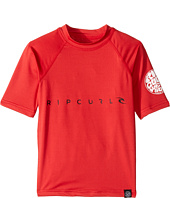 Rip Curl Kids - Dawn Patrol UV Tee Short Sleeve (Big Kids)