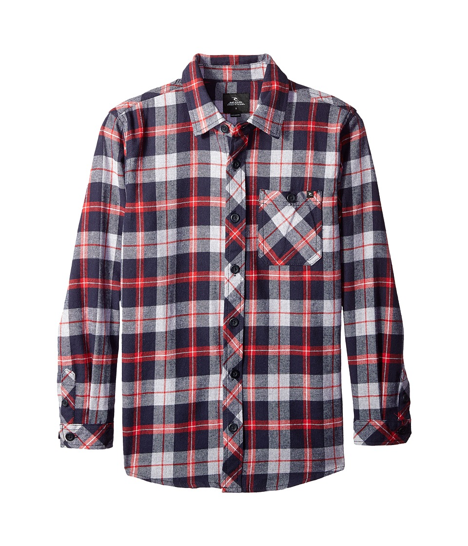 Rip Curl Kids - Teller Long Sleeve Flannel Shirt