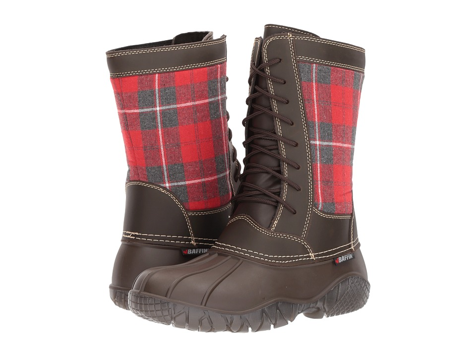 Baffin St. Claire (Brown Plaid) Women