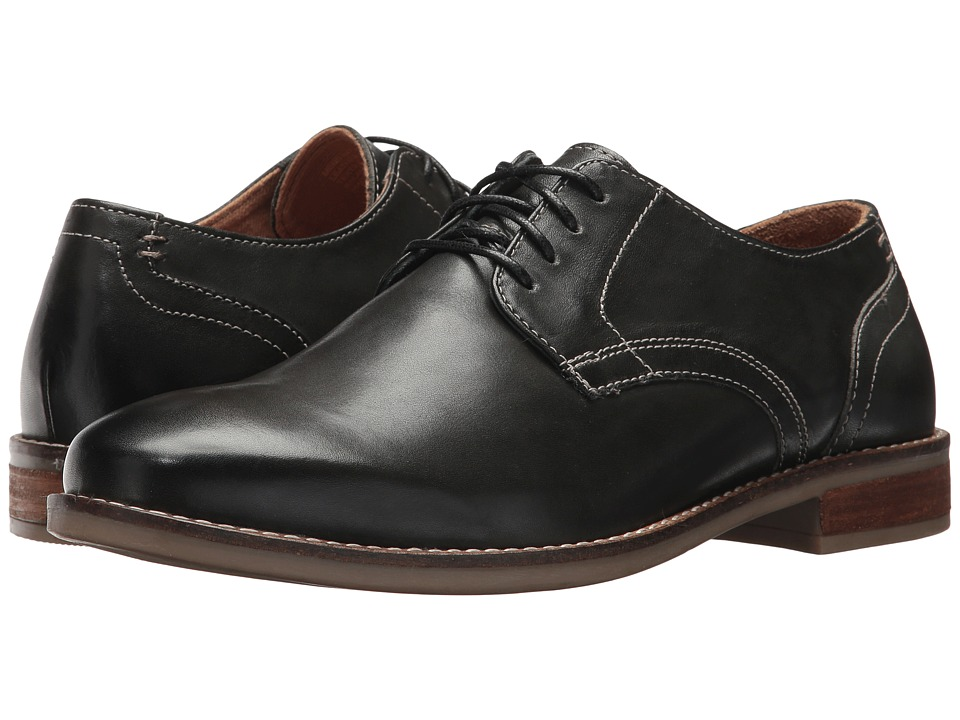 Nunn Bush Clyde Plain Toe Oxford (Charcoal) Men