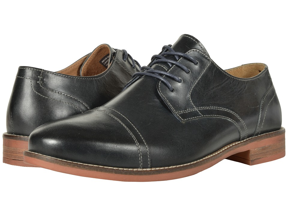 Nunn Bush Chester Cap Toe Oxford (Navy) Men