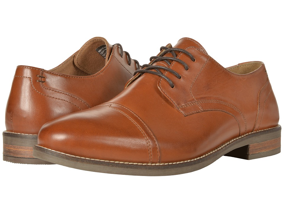 Nunn Bush Chester Cap Toe Oxford (Cognac) Men