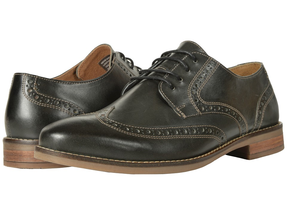 Nunn Bush Charles Wing Tip Oxford (Charcoal) Men