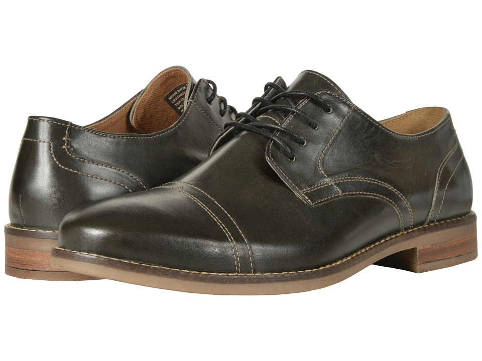 Nunn Bush Chester Cap Toe Oxford (Charcoal) Men
