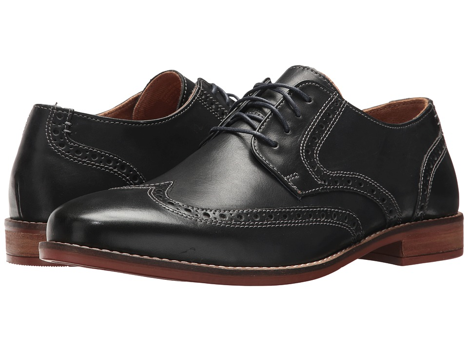 Nunn Bush Charles Wing Tip Oxford (Navy) Men