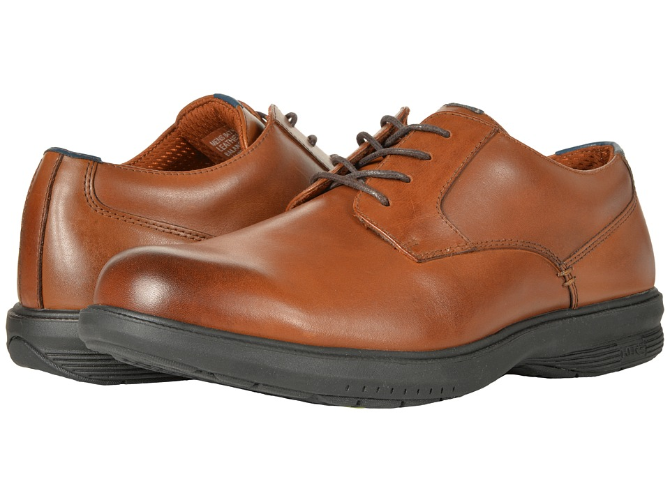 Nunn Bush Marvin St. Plain Toe Oxford (Tan) Men