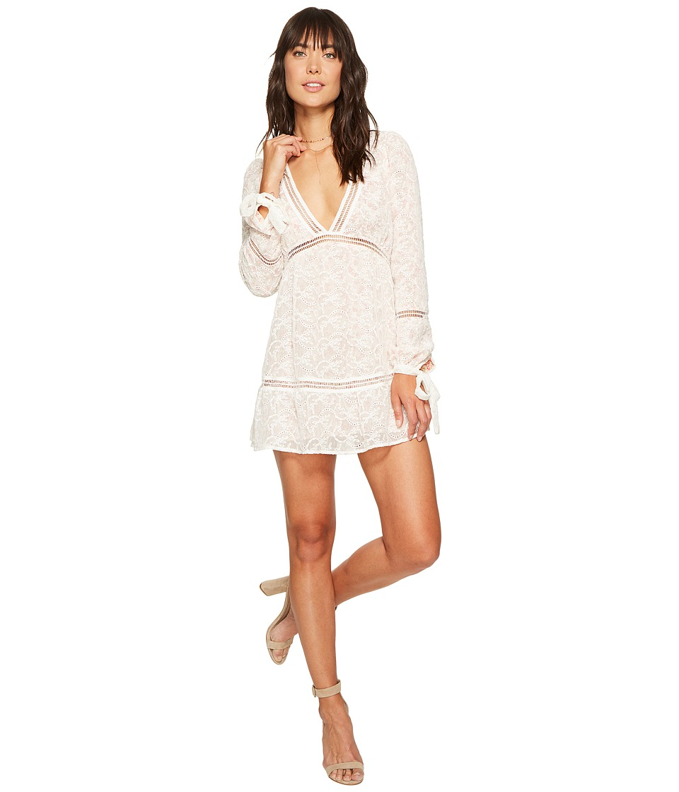 For Love and Lemons Sweet Dispositon Swing Dress (Ivory Floral) Women