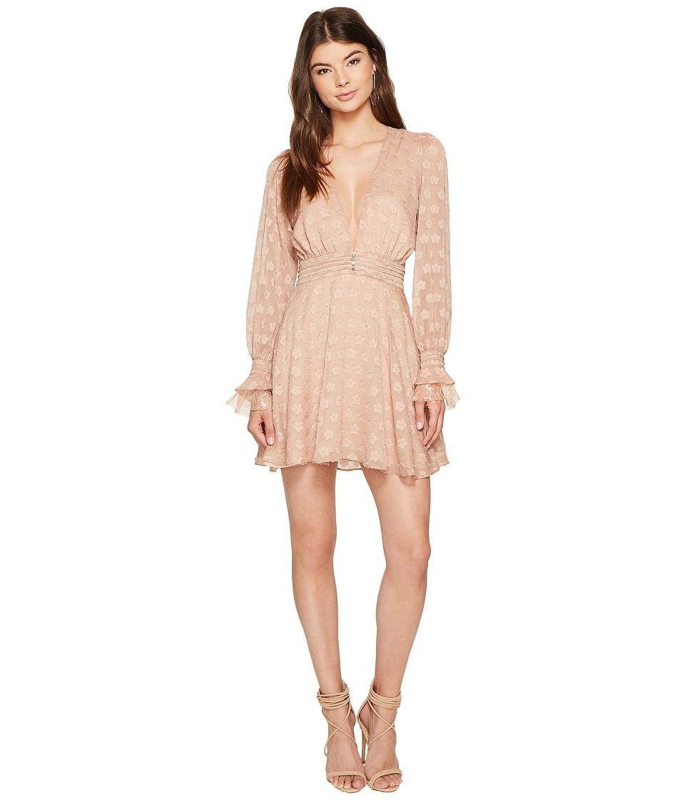 For Love and Lemons Modern Long Sleeve Dress (Honey) Women