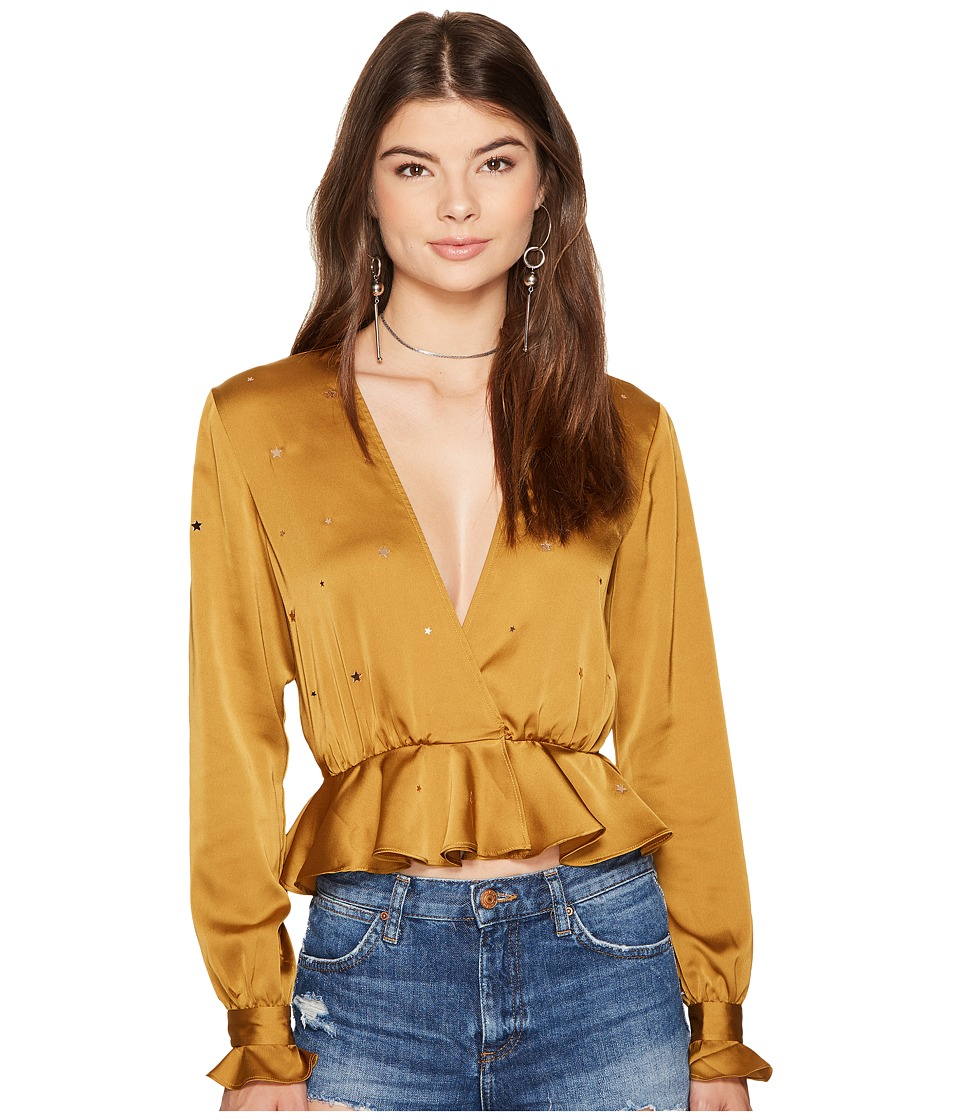For Love and Lemons For Love and Lemons - Twinkle Long Sleeve Blouse