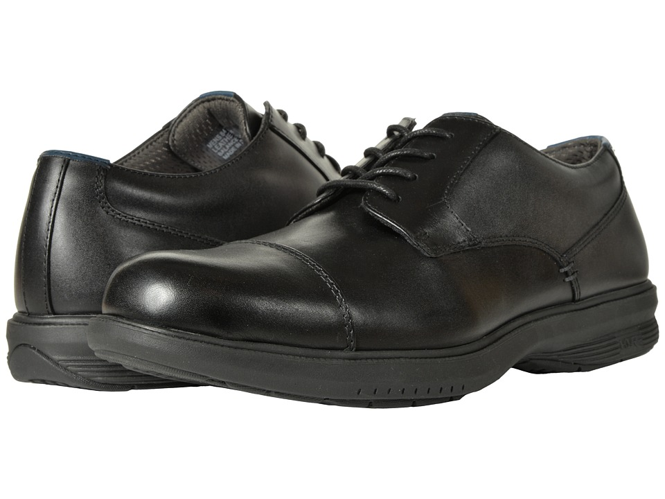 Nunn Bush Melvin St. Cap Toe Oxford (Black) Men