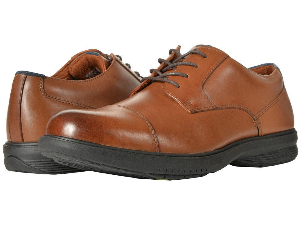 Nunn Bush Melvin St. Cap Toe Oxford (Tan) Men