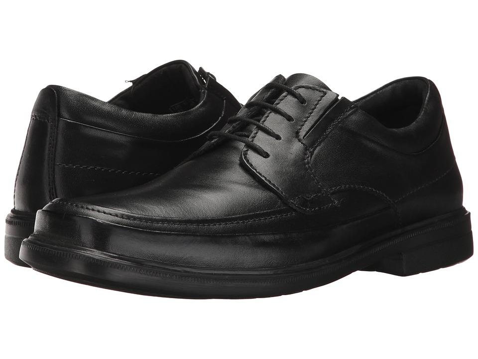 Hush Puppies Prinze Hopper (Black Leather) Men