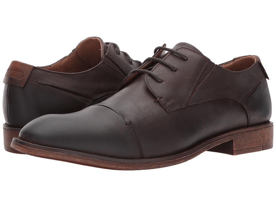 Steve Madden - Quantim (Dark Brown) Men's Lace up casual Shoes