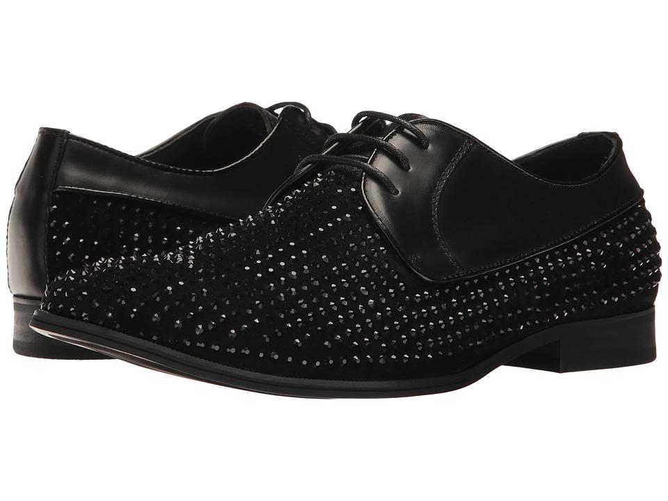 Steve Madden - Reward (Black) Men's Lace up casual Shoes