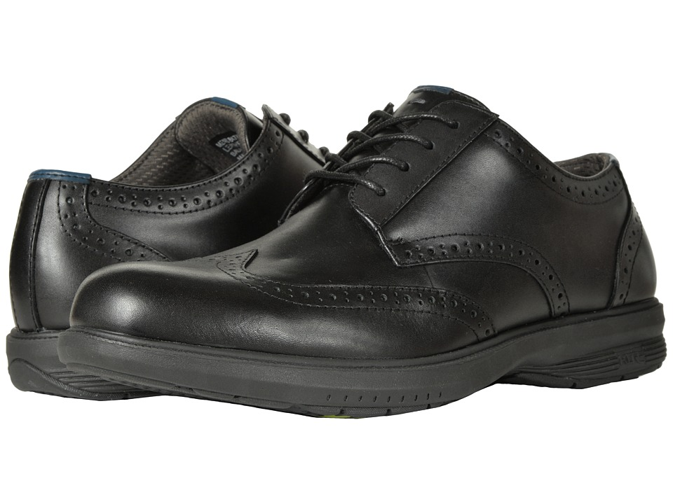 Nunn Bush Maclin St. Wing Tip Oxford (Black) Men