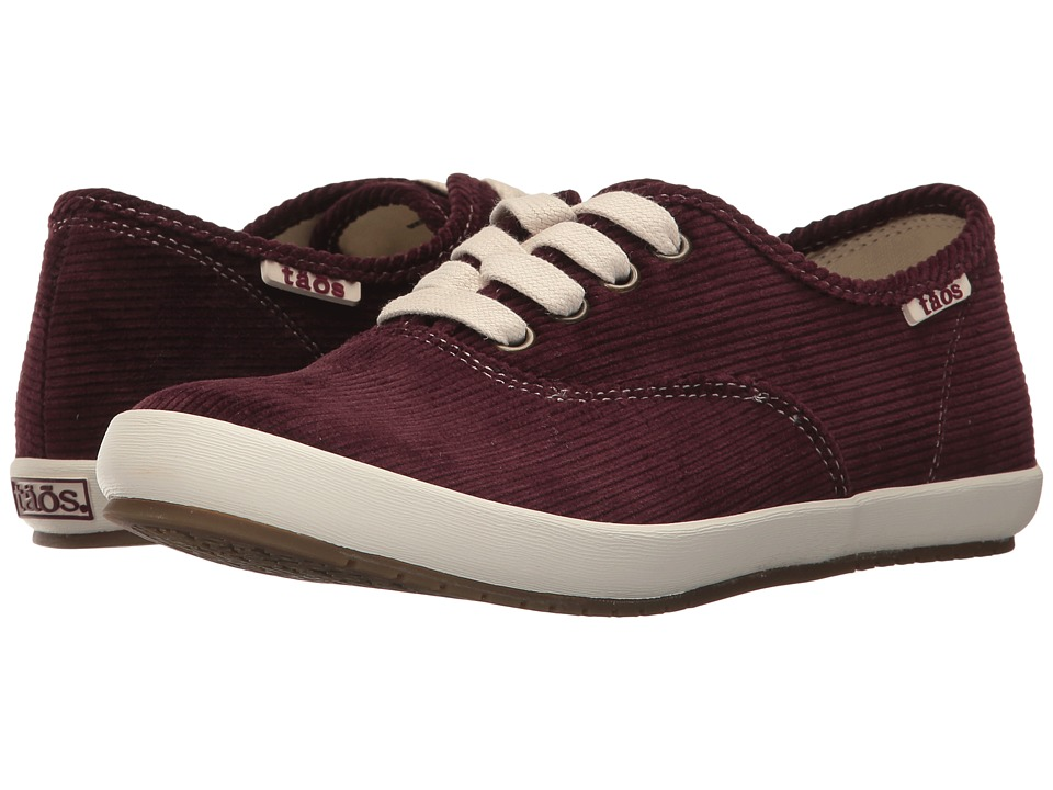 Taos Footwear Guest Star (Bordeaux Cord) Women