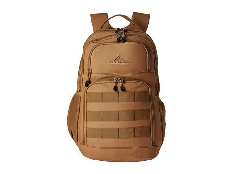 High Sierra Rownan Backpack - Tan Canvas