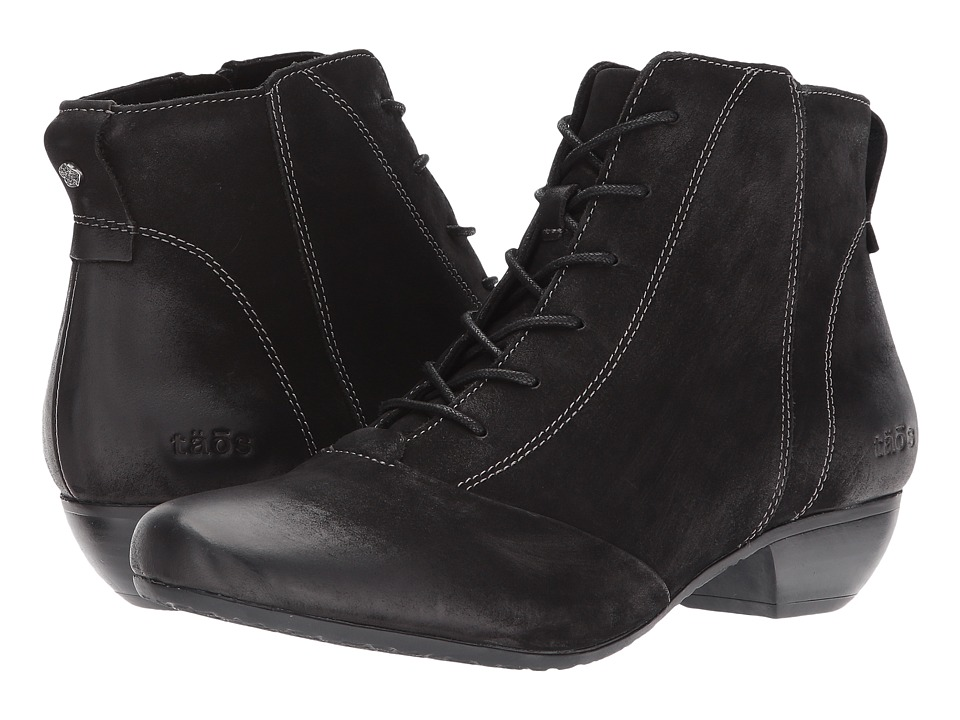 Taos Footwear Impulse (Black Oiled) Women