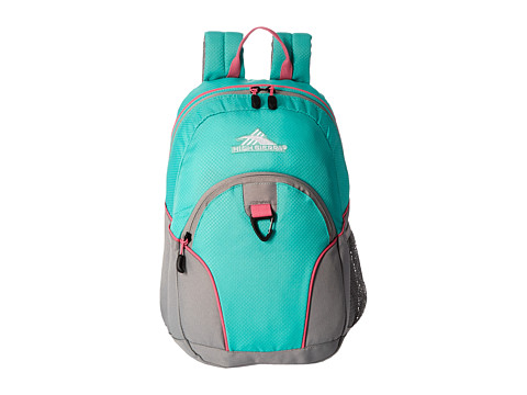 High Sierra Mini Loop Backpack - Aquamarine/Ash/Pink Lemonade