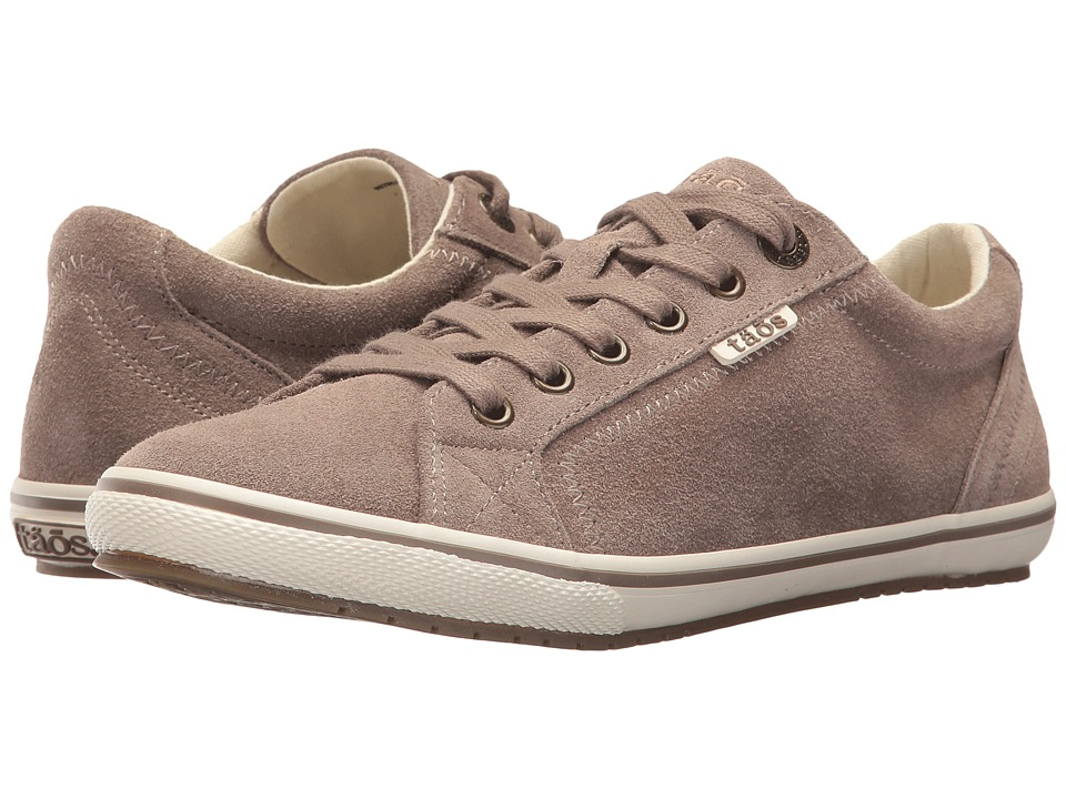 Taos Footwear Retro Star (Khaki Suede) Women